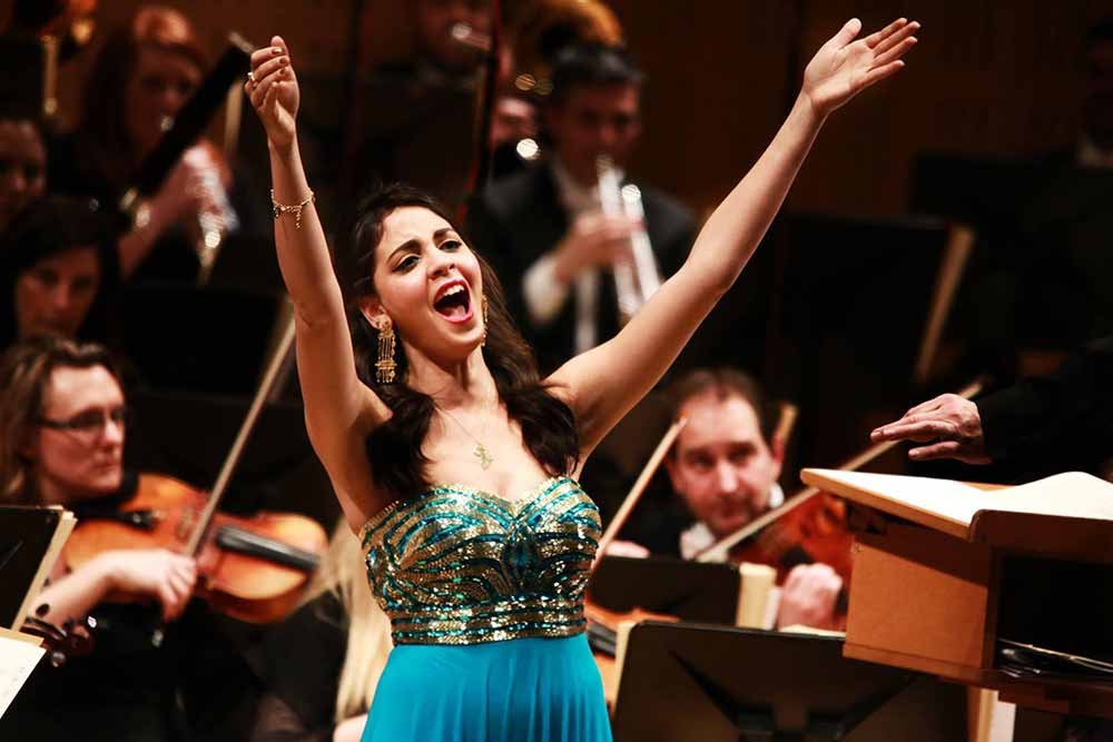 Fatma Said, Soprano – Winner of 2016 Veronica Dunne International Singing Competition – Photo by Frances Marshall