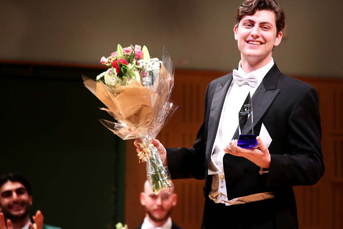 William Thomas, Bass – Winner of 2019 Veronica Dunne International Singing Competition – Photo by Frances Marshall