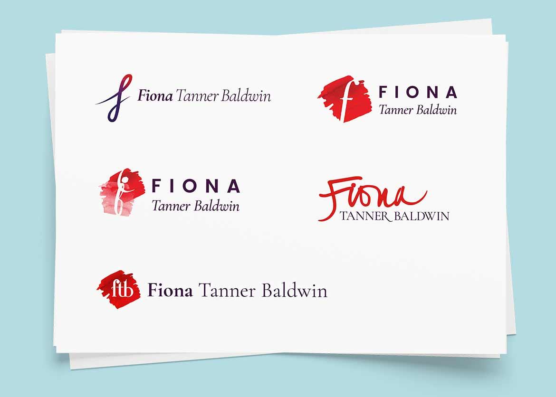 Fiona Tanner Baldwin, Soprano – Brand and logo design by Marshall Light Studio