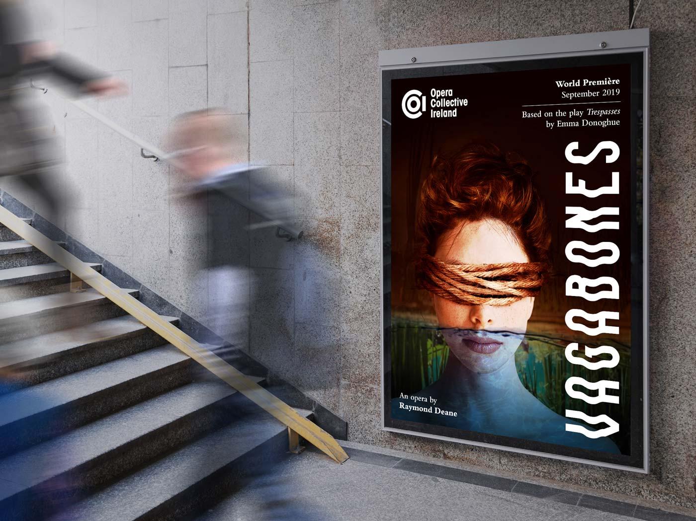 Vagabones, 2019 – Opera Collective Ireland (OCI) – Marketing visual