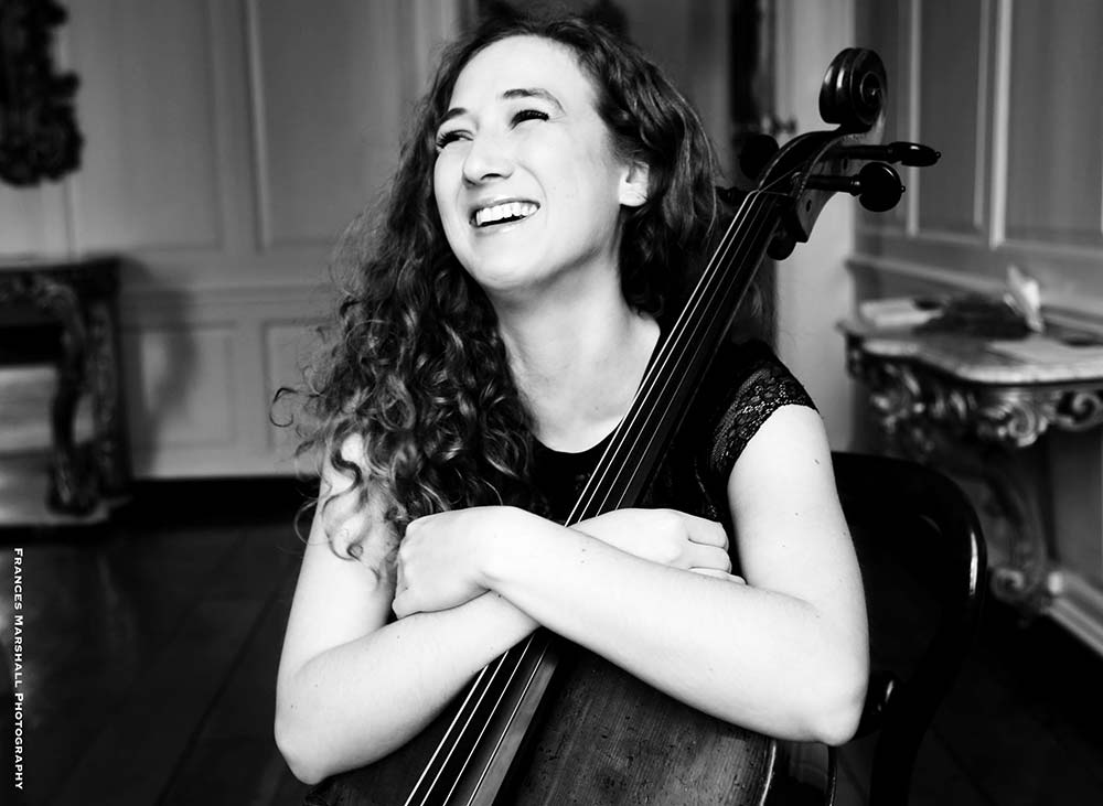 Adi Tal, Cellist – Photo Frances Marshall