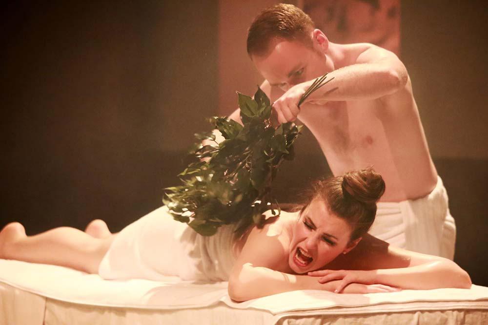 Agrippina opera production – Photo Frances Marshall