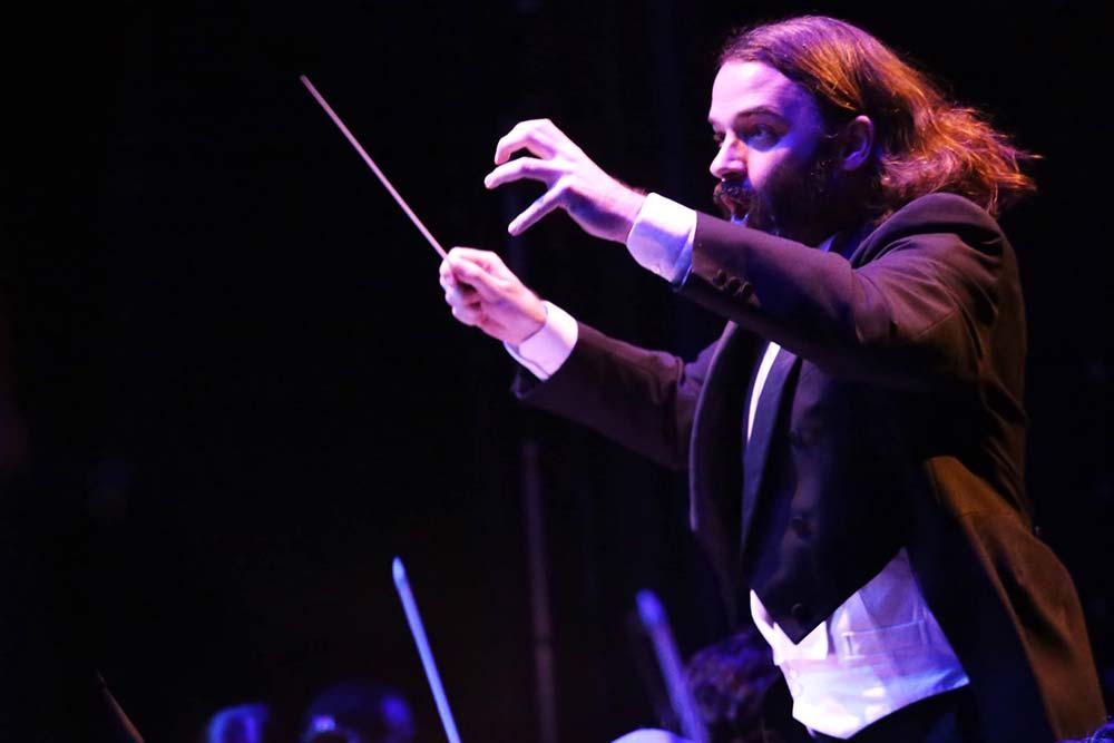John O'Brien, Conductor – Photo Frances Marshall