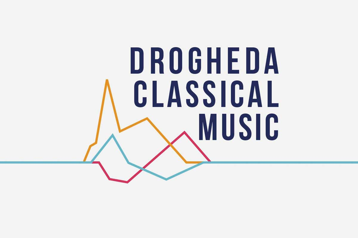 Drogheda Classical Music Series logo design by Marshall Light Studio