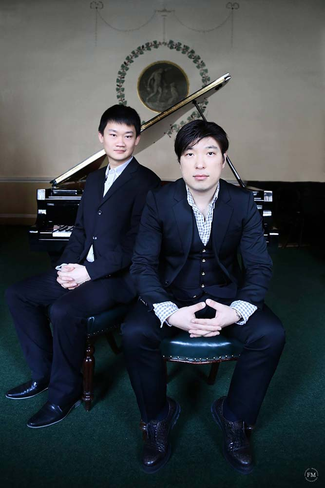 Duo pianists – Photo Frances Marshall