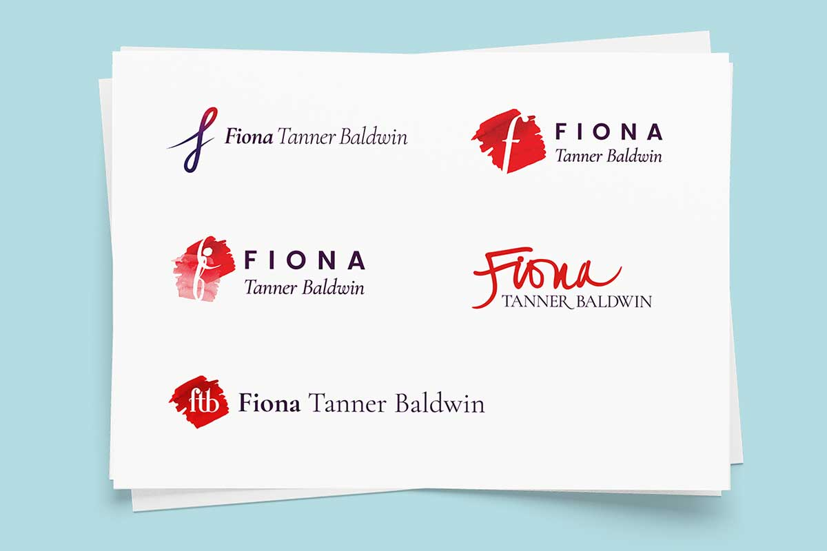 Fiona Tanner Baldwin, Soprano – Logo development by Marshall Light Studio