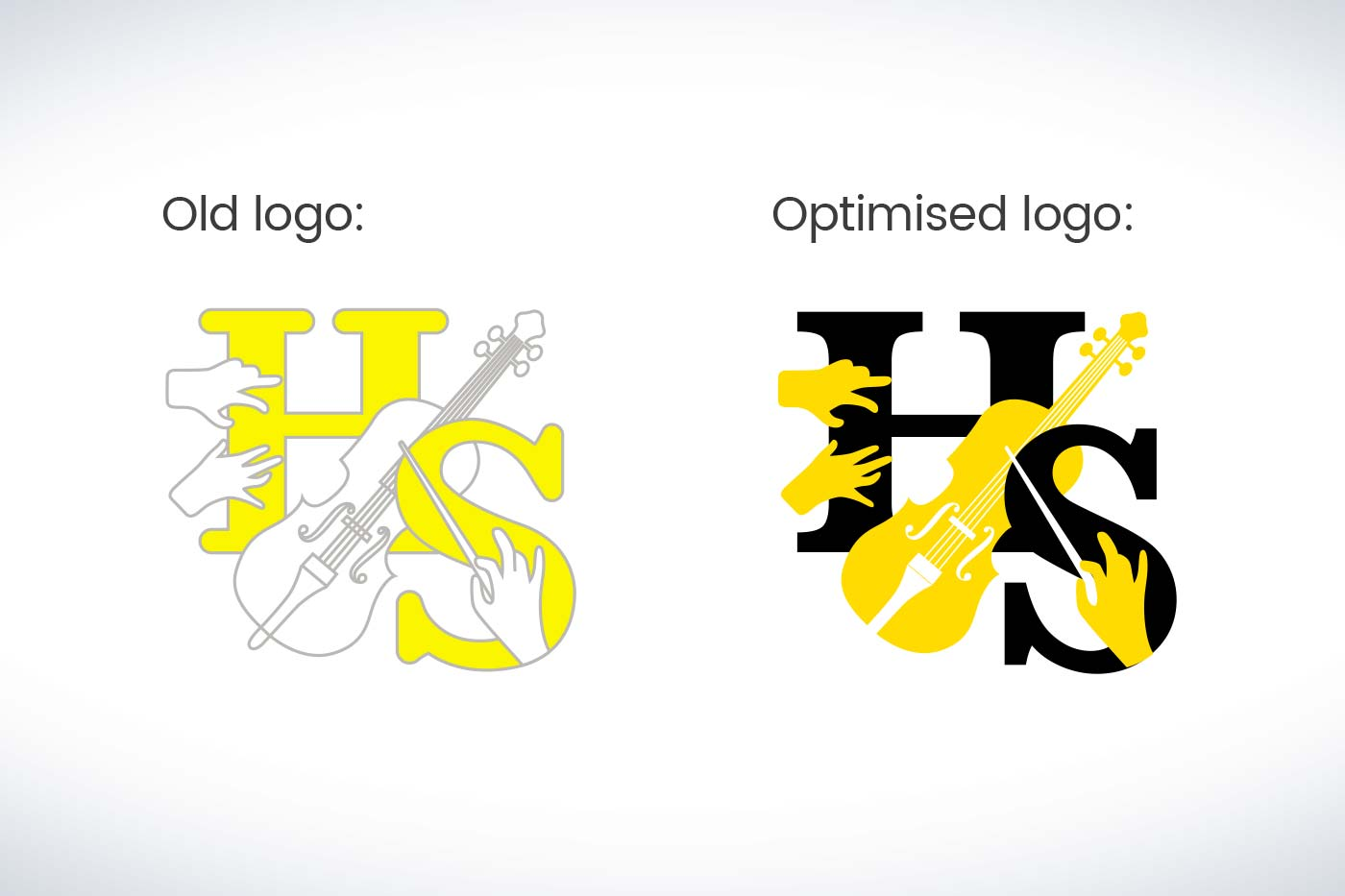 Helen Sykes Artists' Management logo development by Marshall Light Studio