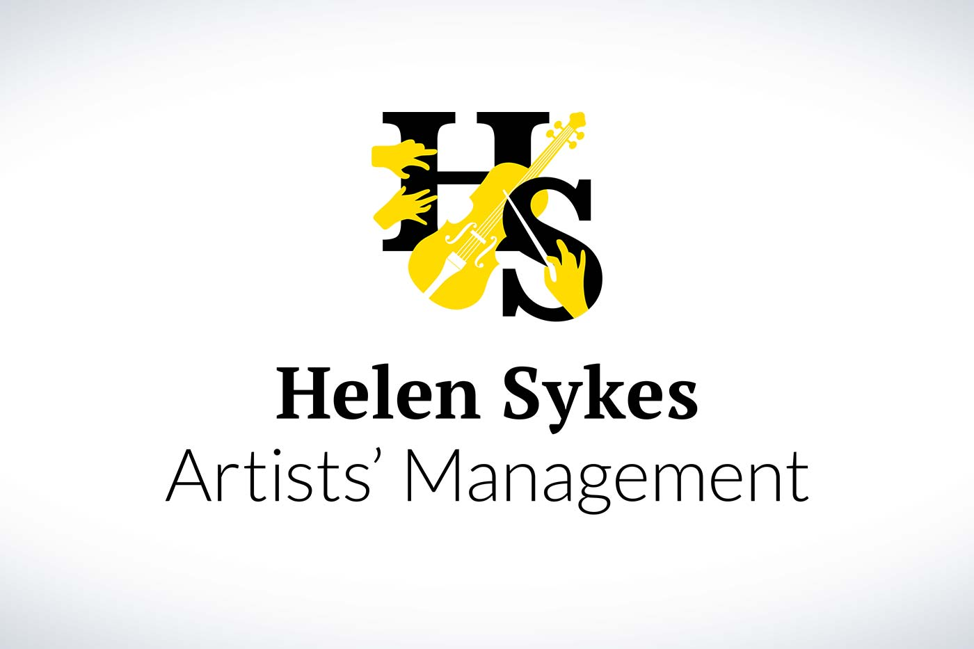 Helen Sykes Artists' Management logo design by Marshall Light Studio