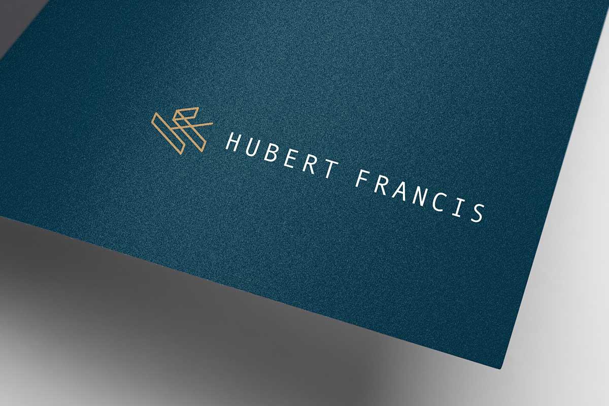 Hubert Francis, Tenor – Logo design by Marshall Light Studio
