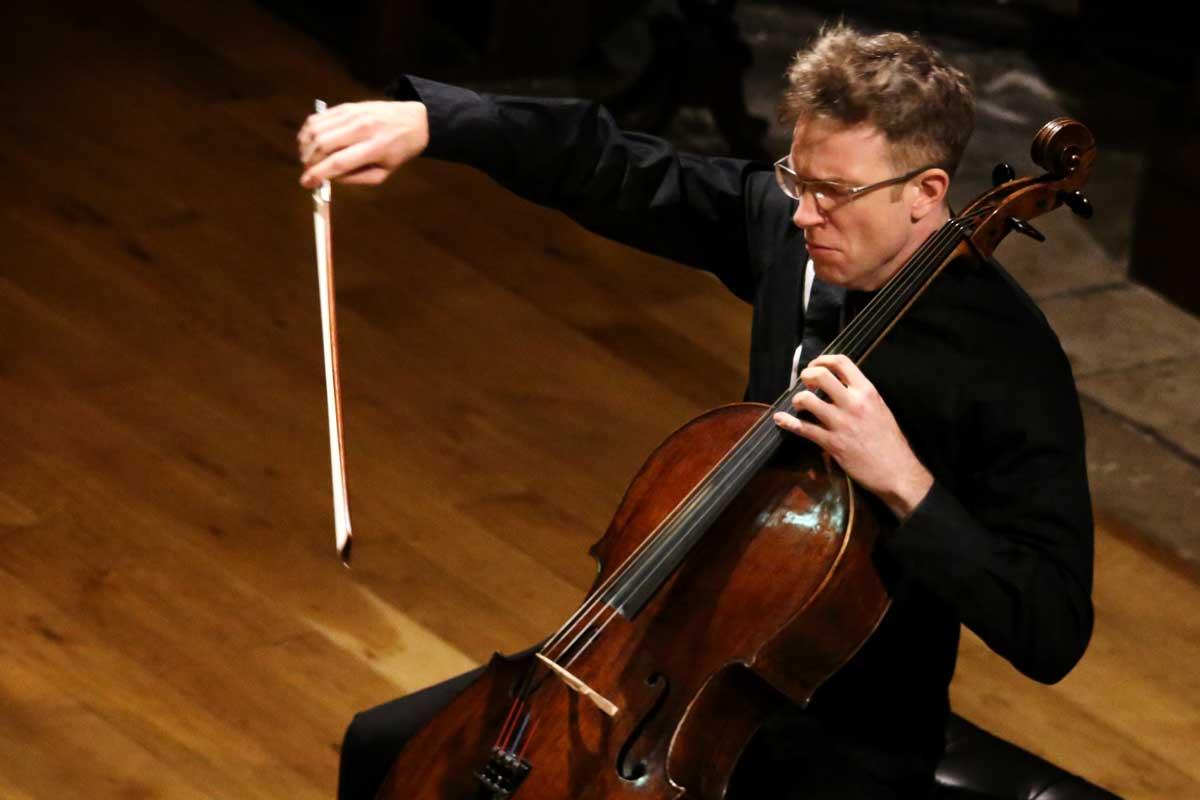 Johannes Moser, Cellist – Drogheda Classical Music – Photo Frances Marshall