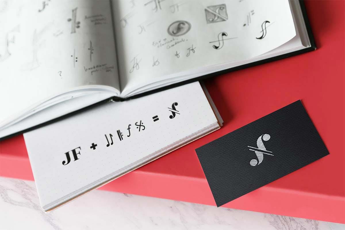 John Finucane, Clarinettist – Brand identity design by Marshall Light Studio