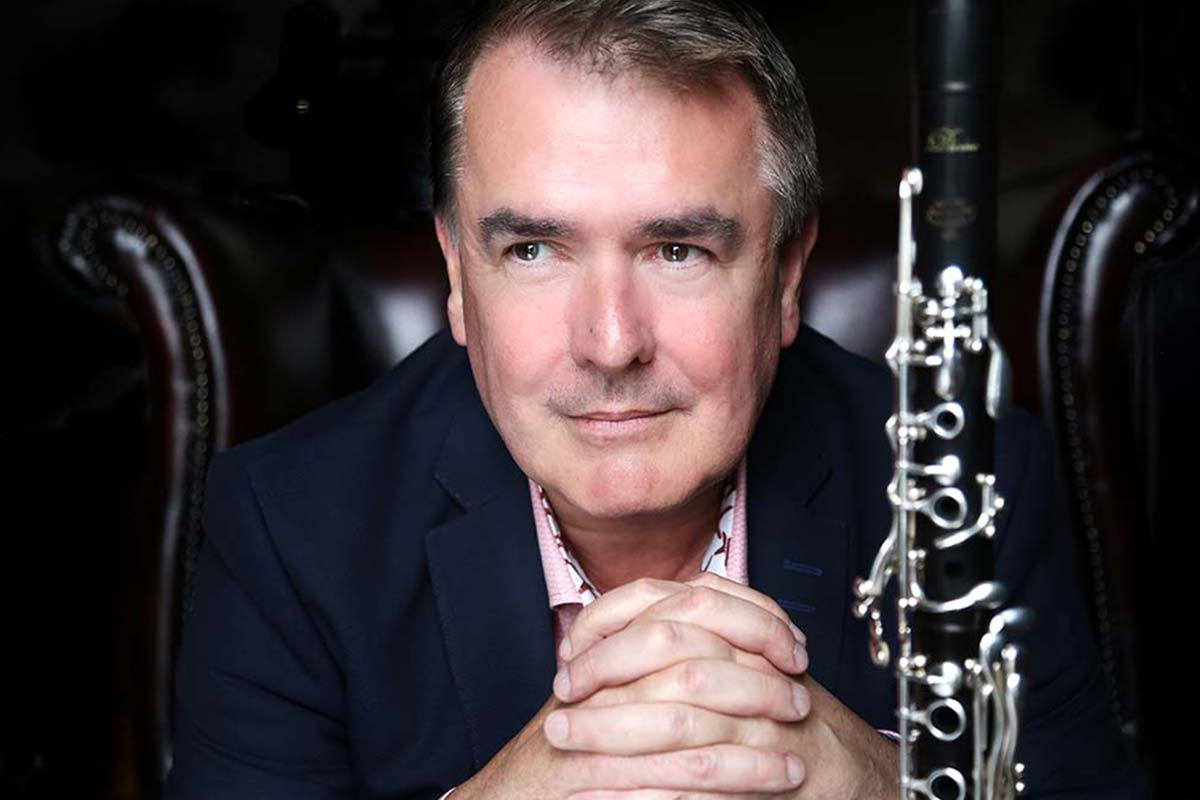 John Finucane, Clarinettist – Photo Frances Marshall