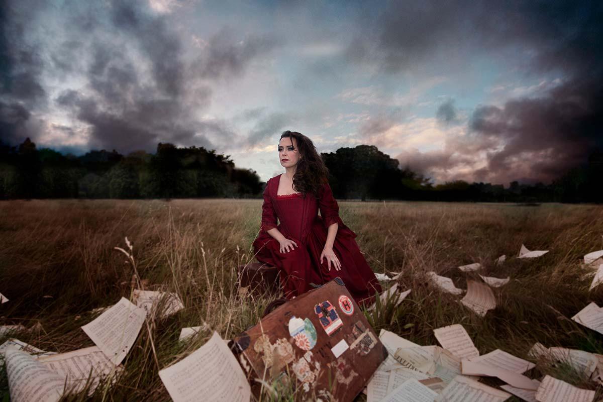 Sharon Carty, Mezzo-Soprano – Baroque concept photoshoot by Frances Marshall and Marshall Light Studio