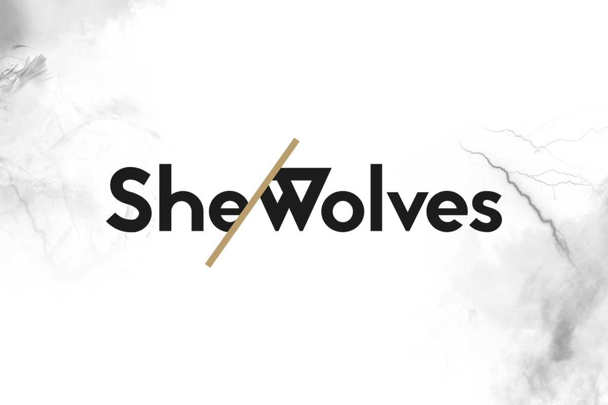 She-Wolves Project logo design by Marshall Light Studio
