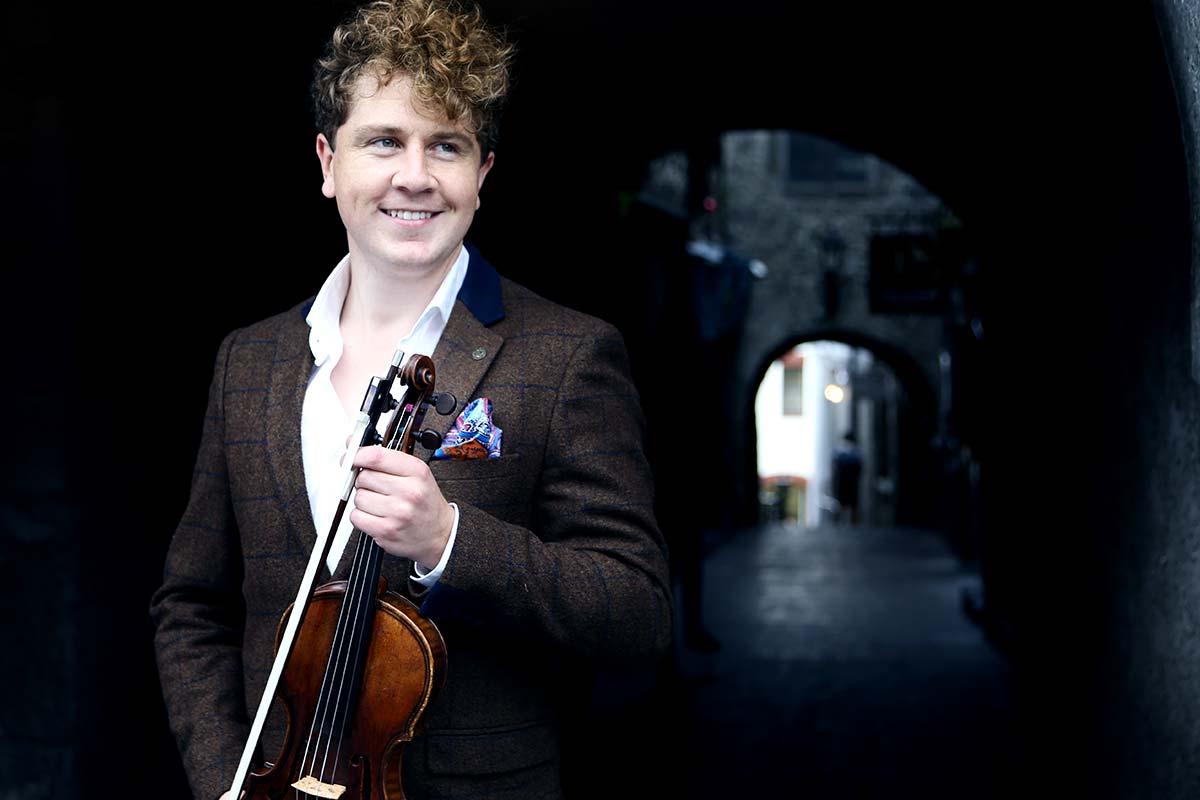 Patrick Rafter, Violin – Photo Frances Marshall