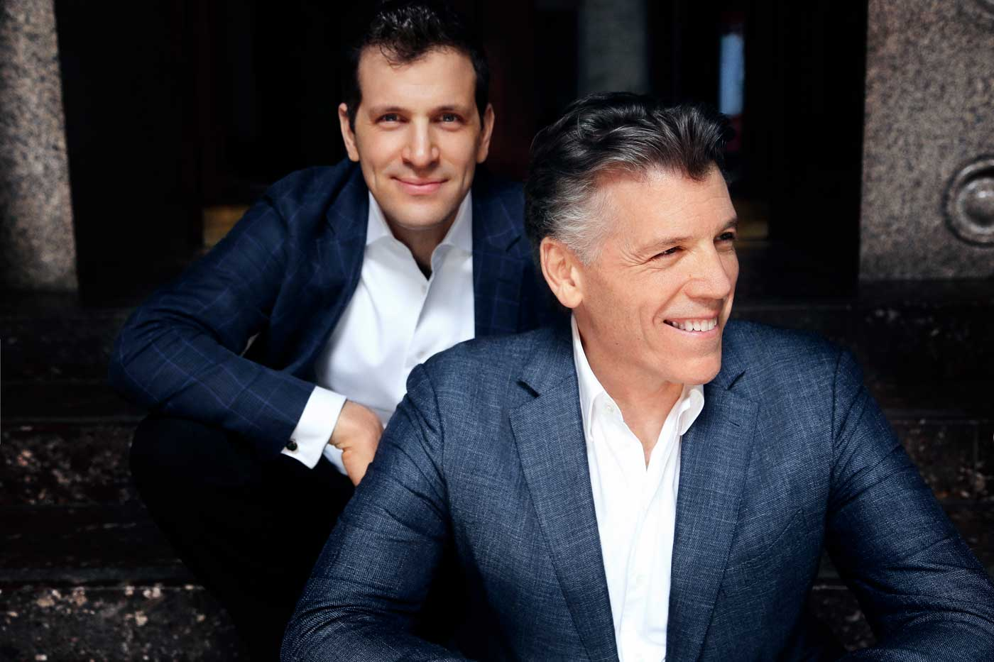 Thomas Hampson and Luca Pisaroni – Photo Frances Marshall