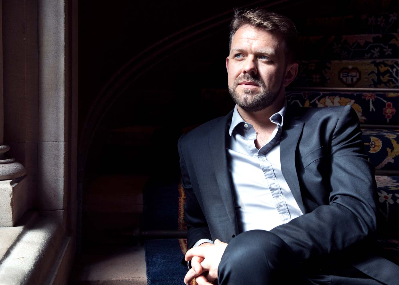 Rory Musgrave, Baritone – Website design and portrait photography – Image credit Frances Marshall