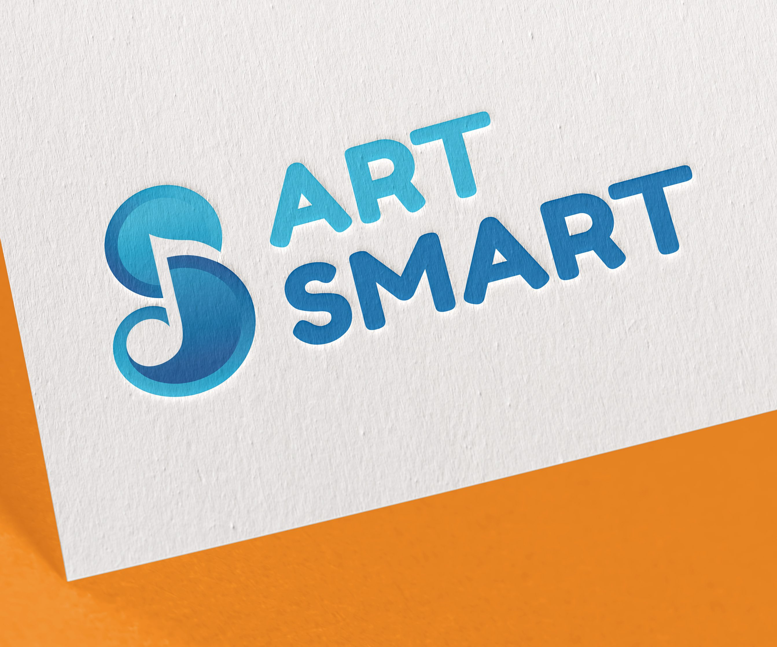 ArtSmart music mentoring charity with Michael Fabiano & John Viscardi – Logo design by Marshall Light Studio